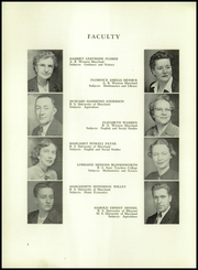 Washington High School - Hatchet Yearbook (Princess Anne, MD) online yearbook collection, 1951 Edition, Page 8