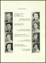 Washington High School - Hatchet Yearbook (Princess Anne, MD) online yearbook collection, 1951 Edition, Page 9 of 68