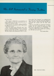 Washington Lee High School - Blue and Gray Yearbook (Arlington, VA) online yearbook collection, 1956 Edition, Page 10