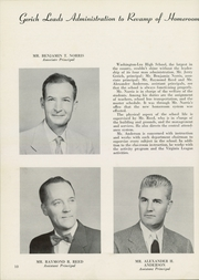 Washington Lee High School - Blue and Gray Yearbook (Arlington, VA) online yearbook collection, 1956 Edition, Page 14 of 296