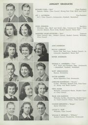 Washington Park High School - Kipikawi Yearbook (Racine, WI) online yearbook collection, 1945 Edition, Page 16