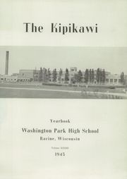 Washington Park High School - Kipikawi Yearbook (Racine, WI) online yearbook collection, 1945 Edition, Page 5