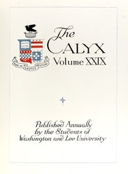 Washington and Lee University - Calyx Yearbook (Lexington, VA) online yearbook collection, 1923 Edition, Page 11