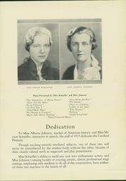 Wauwatosa High School - Cardinal Pennant Yearbook (Wauwatosa, WI) online yearbook collection, 1935 Edition, Page 7 of 104