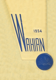 Waynesboro Area Senior High School - Wayarian Yearbook (Waynesboro, PA) online yearbook collection, 1954 Edition, Page 1