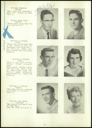 Webster High School - Sylvacola Yearbook (Webster, WI) online yearbook collection, 1957 Edition, Page 16