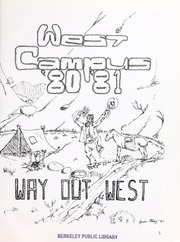 West Campus Junior High School - Yearbook (Berkeley, CA) online yearbook collection, 1981 Edition, Page 5