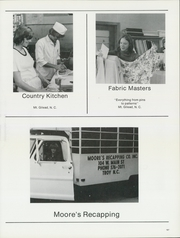 West Montgomery High School - Warrior Yearbook (Mount Gilead, NC) online yearbook collection, 1974 Edition, Page 201 of 240