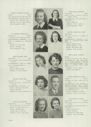 Westbrook High School - Blue and White Yearbook (Westbrook, ME) online yearbook collection, 1945 Edition, Page 18 of 104