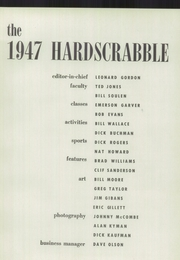 Western Reserve Academy - Hardscrabble Yearbook (Hudson, OH) online yearbook collection, 1947 Edition, Page 5 of 124
