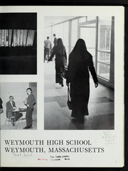 Weymouth High School - Reflector Yearbook (Weymouth, MA) online yearbook collection, 1970 Edition, Page 7