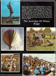 Wheat Ridge High School - Agrarian Yearbook (Wheat Ridge, CO) online yearbook collection, 1983 Edition, Page 9 of 326