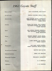 Wichita Falls High School - Coyote Yearbook (Wichita Falls, TX) online yearbook collection, 1963 Edition, Page 4
