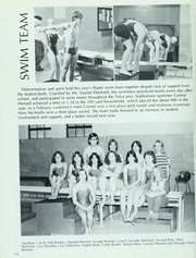 Will rogers high school lariat yearbook tulsa ok class of 1982 page 158 of 208 for Rogers high school swimming pool