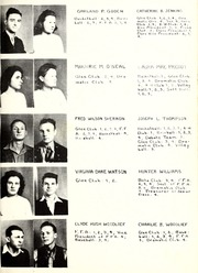 Wilton High School - Wiltonian Yearbook (Wilton, NC) online yearbook collection, 1941 Edition, Page 17 of 78
