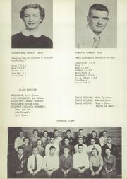 Winfield High School - Mirror Yearbook (Winfield, IA) online yearbook collection, 1955 Edition, Page 16 of 72