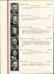 Wisconsin State Teachers College - Meletean Yearbook (River Falls, WI) online yearbook collection, 1940 Edition, Page 36