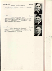 Wisconsin State Teachers College - Meletean Yearbook (River Falls, WI) online yearbook collection, 1940 Edition, Page 49 of 196