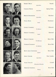 Wisconsin State Teachers College - Meletean Yearbook (River Falls, WI) online yearbook collection, 1940 Edition, Page 86