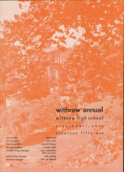 Withrow High School - Withrow Annual Yearbook (Cincinnati, OH) online yearbook collection, 1951 Edition, Page 9 of 210
