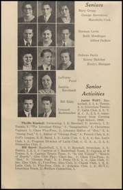 Woodland High School - Ilex Yearbook (Woodland, CA) online yearbook collection, 1932 Edition, Page 14