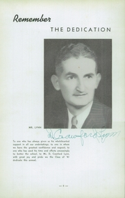 Woodrow Wilson High School - Echo Yearbook (Beckley, WV) online yearbook collection, 1941 Edition, Page 12 of 80