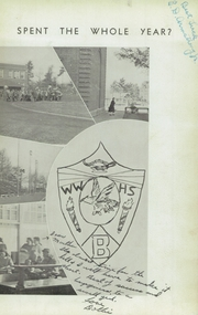 Woodrow Wilson High School - Echo Yearbook (Beckley, WV) online yearbook collection, 1941 Edition, Page 7