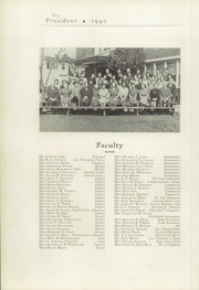 Woodrow Wilson High School - President Yearbook (Portsmouth, VA) online yearbook collection, 1940 Edition, Page 12
