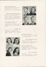 Woodrow Wilson High School - Yearbook (Washington, DC) online yearbook collection, 1942 Edition, Page 85