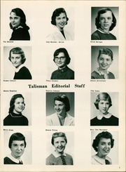 Woodruff High School - Talisman Yearbook (Peoria, IL) online yearbook collection, 1957 Edition, Page 7