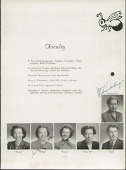 Woodstock Community High School - Woodcohi Yearbook (Woodstock, IL) online yearbook collection, 1950 Edition, Page 15 of 88