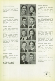 Yates Center High School - Wildcat Yearbook (Yates Center, KS) online yearbook collection, 1940 Edition, Page 12 of 56