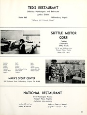 York High School - Falcon Yearbook (Yorktown, VA) online yearbook collection, 1963 Edition, Page 207