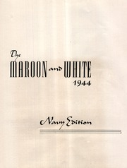 Youngwood High School - Maroon and White Yearbook (Youngwood, PA) online yearbook collection, 1944 Edition, Page 5