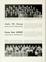 Kansas State University - Royal Purple Yearbook (Manhattan, KS) online yearbook collection, 1951 Edition, Page 230