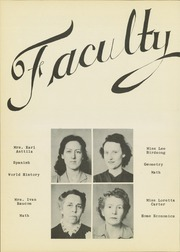 Page 14, 1944 Edition, Mineral Wells High School - Burro Yearbook (Mineral Wells, TX) online yearbook collection