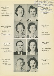 Page 15, 1944 Edition, Mineral Wells High School - Burro Yearbook (Mineral Wells, TX) online yearbook collection