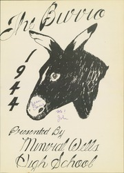 Page 5, 1944 Edition, Mineral Wells High School - Burro Yearbook (Mineral Wells, TX) online yearbook collection
