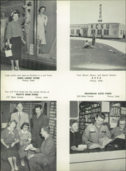 Page 140, 1952 Edition, Provo High School - Provost Yearbook (Provo, UT) online yearbook collection