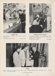 Page 154, 1956 Edition, Provo High School - Provost Yearbook (Provo, UT) online yearbook collection