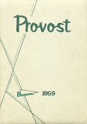 Provo High School - Provost Yearbook (Provo, UT) online yearbook collection, 1959 Edition, Page 1