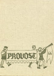 Page 1, 1966 Edition, Provo High School - Provost Yearbook (Provo, UT) online yearbook collection