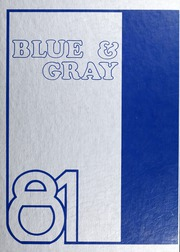 1981 Edition, Washington Lee High School - Blue and Gray Yearbook (Arlington, VA)