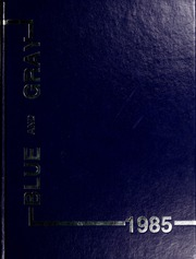 1985 Edition, Washington Lee High School - Blue and Gray Yearbook (Arlington, VA)
