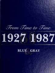1987 Edition, Washington Lee High School - Blue and Gray Yearbook (Arlington, VA)