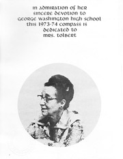 Page 6, 1974 Edition, George Washington High School - Compass Yearbook (Alexandria, VA) online yearbook collection