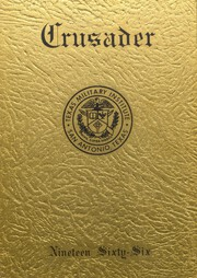 1966 Edition, Texas Military Institute - Crusader Blue Bonnet Yearbook (San Antonio, TX)