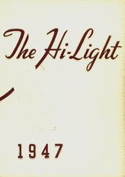 Antigo High School - Hi Light Yearbook (Antigo, WI) online yearbook collection, 1947 Edition, Page 1