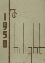 Antigo High School - Hi Light Yearbook (Antigo, WI) online yearbook collection, 1950 Edition, Page 1