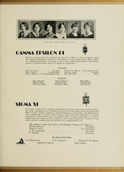 Page 255, 1930 Edition, University of Washington - Tyee Yearbook (Seattle, WA) online yearbook collection